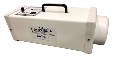 ProMedUSA AirPro-1 Ioniser removes odours from gym