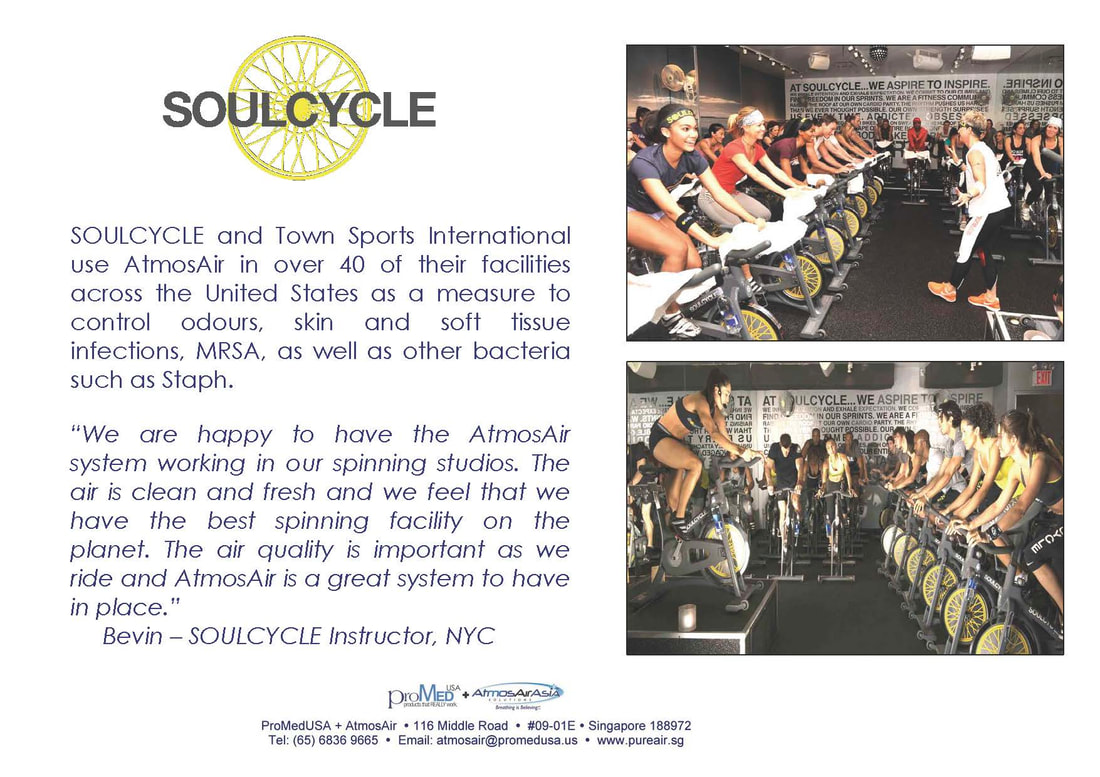 SOULCYCLE NYC Installs AtmosAir